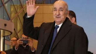 Cezayir'in yeni Cumhurbaşkanı Tebbun oldu