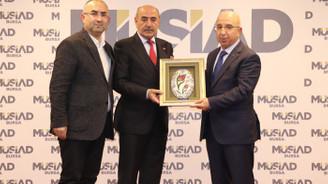 Çevre ve Şehircilik Bakanlığı'nın Bursa vizyonu MÜSİAD'da konuşuldu