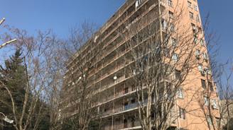 Bahçelievler'de 11 katlı bina boşaltılıyor