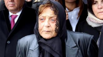 Merhum Denktaş'ın eşi hayatını kaybetti