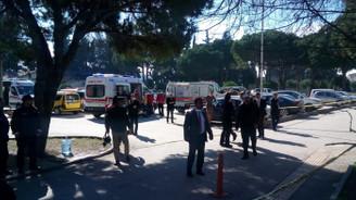 Balıkesir Adliyesinde gaz sızıntısı: 46 kişi hastaneye kaldırıldı