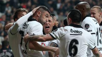 Beşiktaş son dakika golüyle güldü