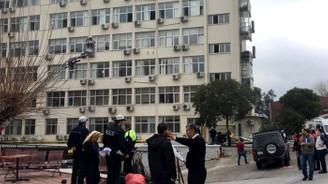 İzmir'de hastanede yangın