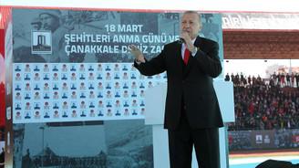 Erdoğan: Çanakkale mücadelesini anlamayana bu ülkenin havası da suyu da helal olmaz