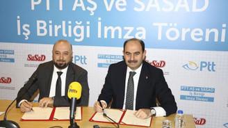PTT ile SASAD iş birliği yapacak