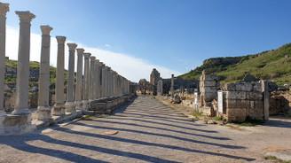 Perge'de antik çağa yolculuk…