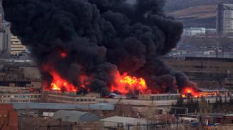 Rusya'da füze fabrikasında yangın