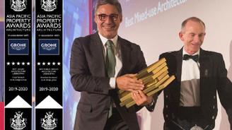Türk mimarın Taşkent projelerine 4 ödül birden