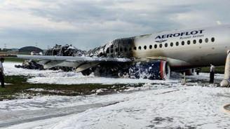 Alev alan uçakta ölü sayısı 41'e çıktı