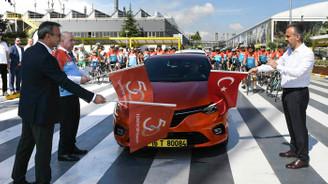 """""""Bisikletle Yüzyıllık Macera"""" turunun Oyak Renault ayağı gerçekleşti"""