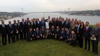 Cumhurbaşkanı Erdoğan genel yayın yönetmenleriyle buluştu