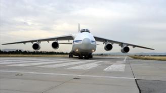 S-400 sevkiyatı kapsamında 12. uçak Mürted'e indi