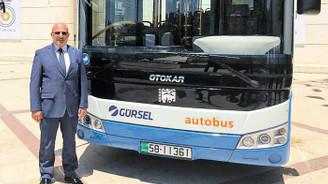 Amman'da toplu taşıma işini Gürsel yürütecek