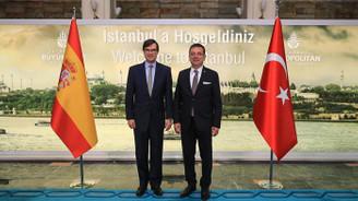Fransa'nın Ankara Büyükelçisi, İmamoğlu'nu ziyaret etti