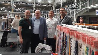 Bursalı tekstilciler Londra Tekstil 2019 Fuarı'nda