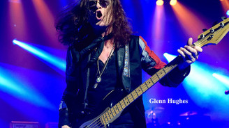 Deep Purple'in basçısı ve solisti Glenn Hughes, Zorlu PSM'de