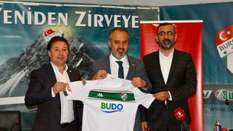 Büyükşehir, Bursasporla 5,5 milyon TL'lik sponsorluk imzaladı