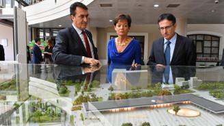 Alman Bakan'dan Osmangazi'nin projelerine övgü