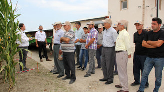MAY Tohum mısır üreticilerini Ar-Ge istasyonunda ağırladı