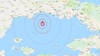 Marmara Denizi'nde 144 artçı sarsıntı kaydedildi