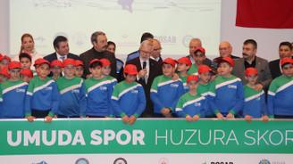 """""""Umuda Spor Huzura Skor""""a bu dönem 76 öğrenci"""