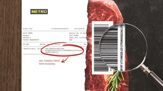 Metro Türkiye, etlerin rafa geliş hikâyesini faturalara taşıdı