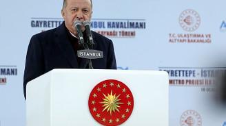 Erdoğan: İstanbul Havalimanı-Gayrettepe arası ulaşım 35 dakikada sağlanacak