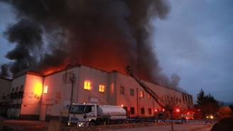Tokat'ta tarihi handa yangın