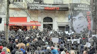 Hrant Dink ölümünün 13'üncü yılında anıldı
