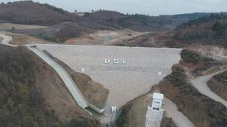 Olukman Tekke Barajı'nda çalışmalar sürüyor