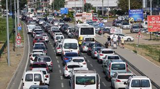 67 bin yeni araç trafiğe katıldı