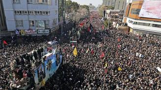 Süleymani'nin cenazesindeki izdihamda 40 kişi öldü, 213 kişi yaralandı