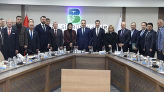 Bursa ile Balıkesir arasındaki yatırım imkanları konuşuldu