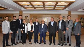 Bursa OSB yönetimi Korteks'te toplandı