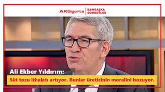 Ali Ekber Yıldırım: İthalata verilen kaynak üreticiye verilse Türkiye bu sorunu aşar