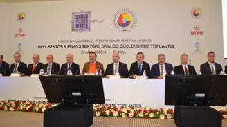 Reel sektör ve bankalar Bursa'da bir araya geldi