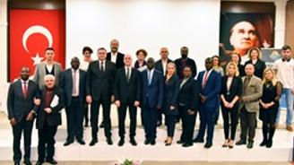 Antalya OSB'de Uganda yatırım olanakları tanıtıldı