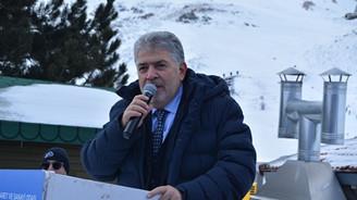 Saklıkent Kayak Merkezi  1 milyon ziyaretçi hedefliyor