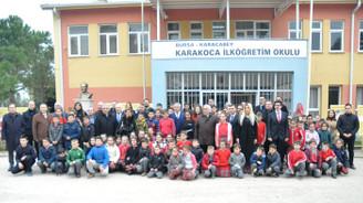 BEV, köy okulunu yeniledi