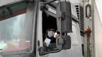 İran'dan dönen şoförler sağlık kontrolünde