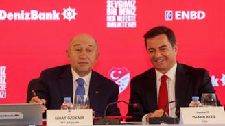 DenizBank, Milli Takım'a  3 yıllığına sponsor oldu