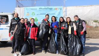 Nestlé gönüllüleri, çevre için Karacabey'de buluştu