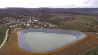 Bursa'da toprak suyla buluşuyor