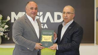 Azerbaycanlı işadamları MÜSİAD'a konuk oldu