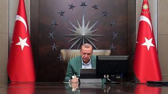 Cumhurbaşkanı Erdoğan kabine üyeleriyle telekonferansla görüştü