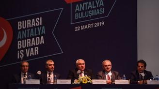 Antalya'da hedef 200 bin yeni istihdam