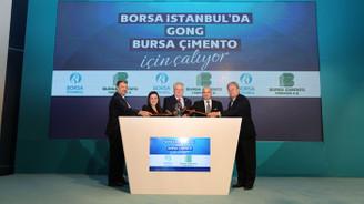 Borsa İstanbul'da gong Bursa Çimento için çaldı