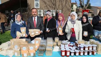 Bursa'nın üreten kadınları Tarım İl Müdürlüğü'nde buluştu