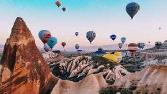 Kapadokya bölgesini bu yıl 322 bin 894 turist gezdi