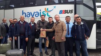 Bursa'dan İstanbul Yeni Havalimanı'na seferler başladı